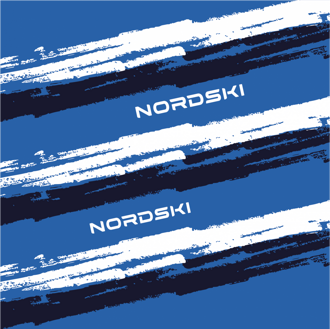 Баф NORDSKI Stripe Deep Blue NSV409236