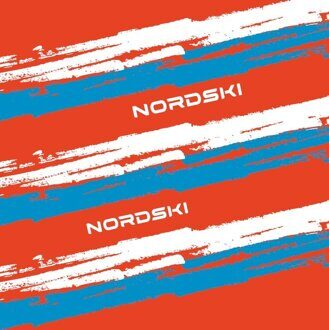 Баф NORDSKI Stripe Red/Blue NSV409987