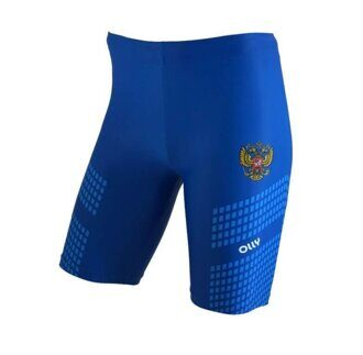 Шорты OLLY Russia Sport Blue long 18s2206