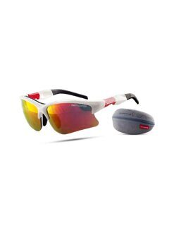 Очки NONAME Wolf Racing White/Red 680102