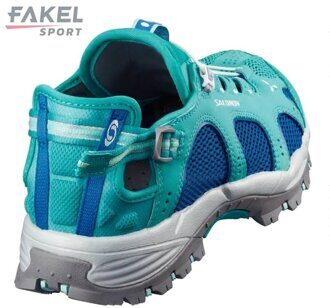 Кроссовки - сандали SALOMON Techamphibian 3 W (Ceramic/Blue) 393463